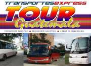 Transportes express tour guatemala