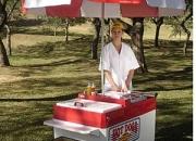 Carrito de hot dog LX de Brasil