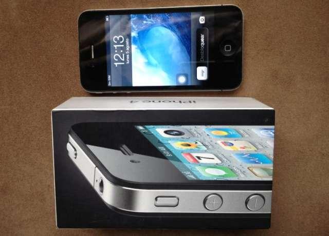 Vendo iphone 4 de 16gb negro para movistar