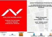 Avaluos Inmobiliarios Guatemala