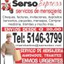 servicio de mensajeria urgente contactenos
