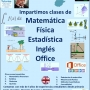 Tutorias  (Matemática, Física, Estadística, Office e Inglés)