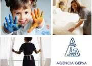 Personal doméstico y niñeras, agencia gepsa, selección técnica