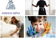Servicio de Selección de Personal Doméstico, Agencia GEPSA, 23 años de experiencia