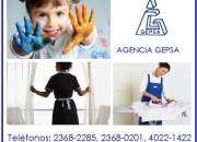 Selección de personal doméstico, agencia gepsa, 24 años de experiencia
