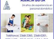 Agencia de Empleadas Domésticas, GEPSA, 24 años de experiencia