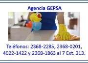 Agencia de Personal Doméstico, GEPSA, 24 años de experiencia