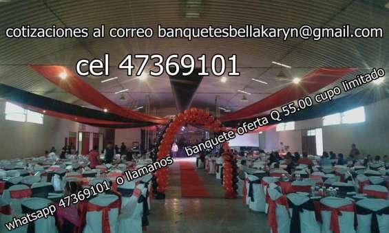 Banquetes adomicilio guatemala banquetes y eventos caterting alquiler de mobiliario