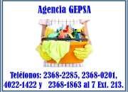 Agencia de Empleadas Domésticas GEPSA, 24 años de experiencia