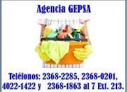 Agencia de empleadas del hogar gepsa, 24 años de experiencia