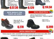 VARIEDAD DE BOTAS INDUSTRIALES EN OFERTA APROVECHA!!
