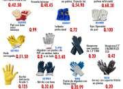 Guantes industriales a un super precio!!!