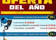ÚLTIMOS DÍAS DE OFERTA EN CONCRETERAS APROVECHA!!!