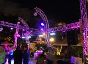 Bocinas, luces, fiesta, audio, iluminacion, evento, photo booth, entretenimiento