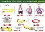 Te ofrecemos arneses de seguridad a un buen precio aprovecha!!