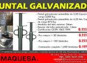 TE OFRECEMOS ESTA SUPER OFERTA OFERTA EN PUNTALES GALVANIZADOS!!!
