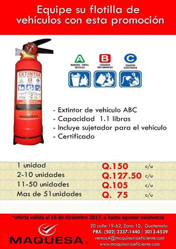Extintores en oferta aprovecha!!