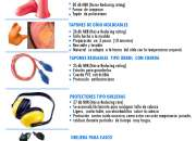 Proteccion para oidos y Rodilleras