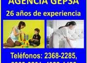 Agencia de Empleadas Domésticas GEPSA, 26 años de experiencia
