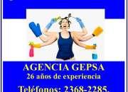 ¿Necesita Empleada Doméstica? Agencia GEPSA, 26 años