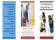 Agencia adonai tiene el mejor personal de limpieza para tu hogar o empresa!