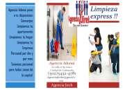 Tenemos el mejor personal para limpieza de tu hogar o empresa!