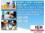 Agencia Jireh te ofrece los mejores perfiles en limpieza