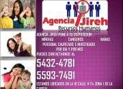 Agencia Jireh tiene personal para el cuidado de tus hijos!
