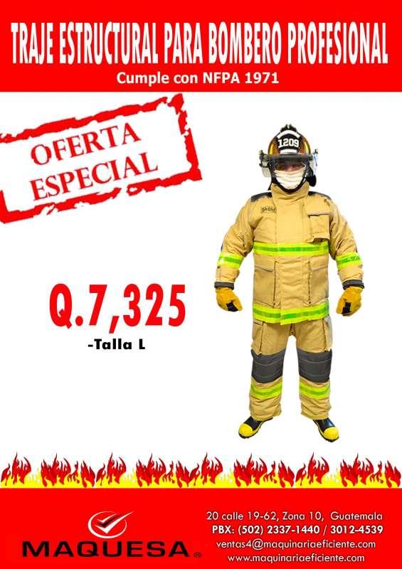 Te ofrecemos esta super oferta en este traje de bombero aprovecha!