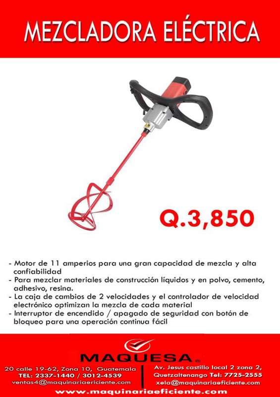 Te ofrecemos mezcladora electrica manual a un super precio!!