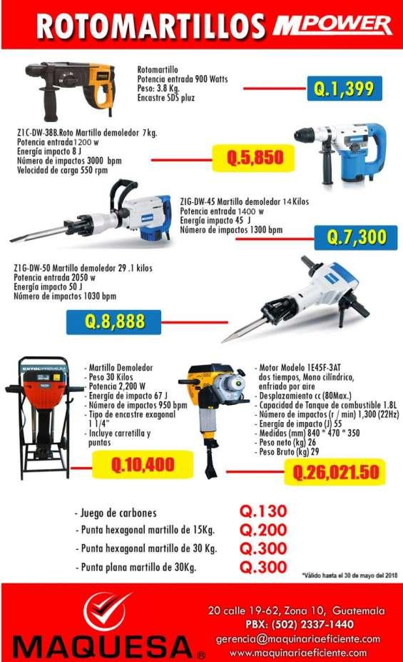 Roto martillos ofertados aprovecha estas ofertas