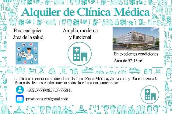 Clínica médica en alquier, adecuada para cualquier área de la salud
