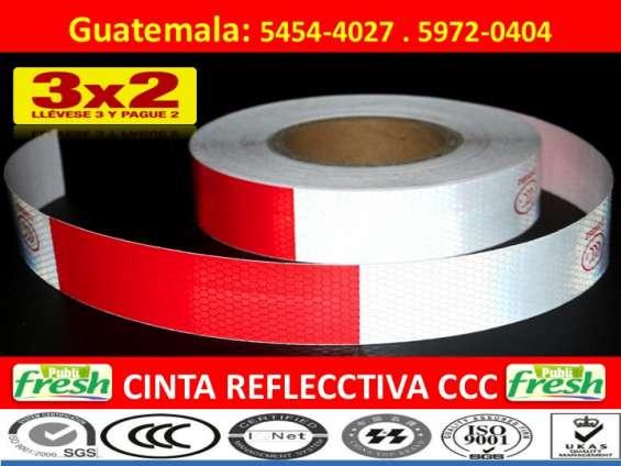 Cinta reflectiva franja reflectivas guatemala
