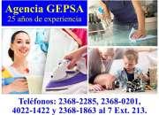 Empleadas Domésticas Garantizadas, Agencia GEPSA, 26 años de experiencia
