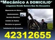 MECANICO A DOMICILIO LAS 24 HORAS