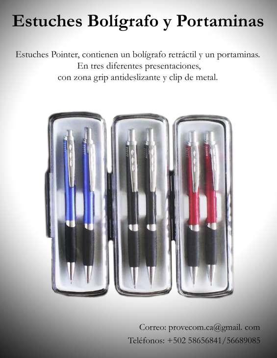 Bolígrafos y portaminas