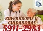ENFERMERAS Y CUIDADORAS