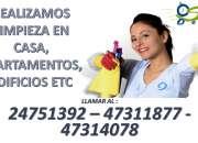 servicio de limpieza para diferentes zonas del país no dudes en llamarnos