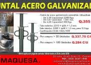 Puntales de acero galvanizado certificados