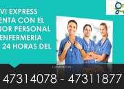 SERVICIO DE ENFERMERÍA Y CUIDADOS DEL ADULTO MAYOR