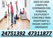 Agencia de limpieza profunda en guatemala las 24horas