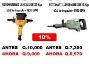 MARTILLOS Y ROTOMARTILLOS EN OFERTA APROVECHA!!!
