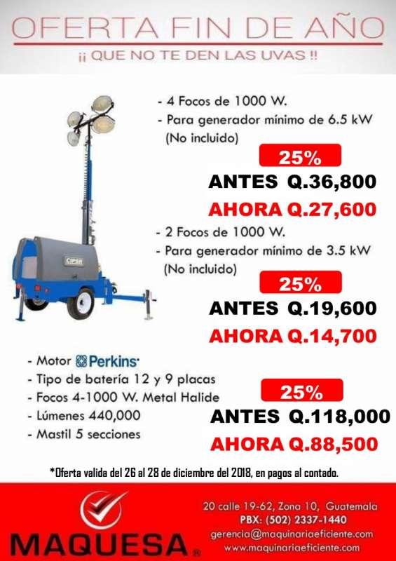 Torre de iluminacion en oferta aprovecha!!!