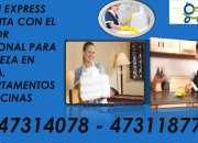 Servicio de limpieza general para residenciales