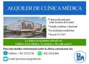 Alquiler de Clínica Médica Nueva
