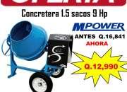 GRAN OFERTA EN MEZCLADORAS DE CONCRETO!!