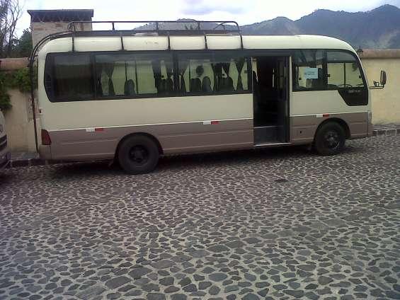 Necesitas contratar un servicio de buses o de turismo