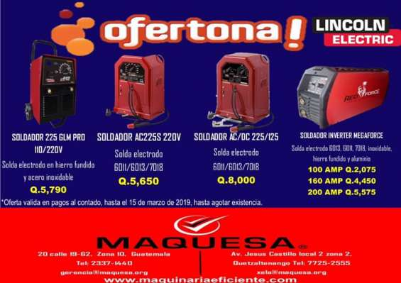 Gran oferta en soldadoras industriales aprovecha!!!