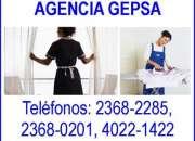 Agencia de empleadas del hogar gepsa, 27 años de experiencia