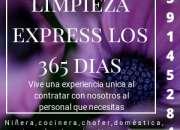 limpieza express los 365 días del años
